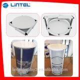 Aluminiumempfang-Kostenzähler-Tisch