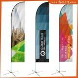 Migliore fabbrica della bandierina della Cina per stampa della bandierina di spiaggia con personalizzato