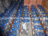 Soupape à vanne d'API600 150lb, extrémités à flasque, rf
