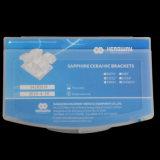 Corchete ortodóntico dental de cerámica del zafiro del Mbt
