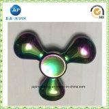 Hilandero de giro de la nueva del diseño del metal de la persona agitada mano cristalina colorida del hilandero (JP-FS013)