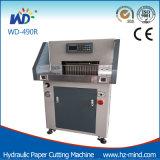 Máquina de papel hidráulica de la cortadora (WD-490R)