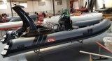 orca 물자 7.6m 군은 판매를 위한 팽창식 배를 늑골을 붙인다