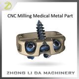 CNC таможни филируя медицинскую часть металла