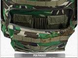 Bolso del ejército con 2 bolsillos de la hidratación dentro del color del camuflaje