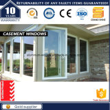 Окно дешевого ядрового качания Casement Insulatio алюминиевого стеклянное