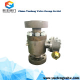 3PC Spilit API Trunnion montado Forged Ball Valve
