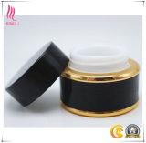 Bottiglia cosmetica di vetro nera per materiale da otturazione cosmetico