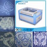 Pano do preço do competidor/sapatas/gravura do laser CO2 do couro/tela & máquina de estaca