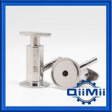 Válvula sanitária inoxidável da amostra da linha masculina de aço 304 316L NPT/Bsp
