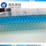 Panneau en plastique de nid d'abeilles de polycarbonate avec de haute résistance