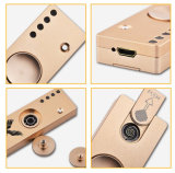 1人のLED USBの充満タバコのライター手指の紡績工の再充電可能で創造的な落着きのなさの反圧力の紡績工の2017 3