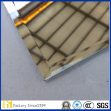 2mm 3mm 4mm 6mmの居間または居間ミラーのための8mm最上質の斜めの装飾的なガラスミラー
