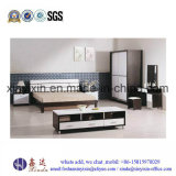 صنع وفقا لطلب الزّبون خشبيّة أثاث لازم حديثة غرفة نوم مجموعة ([ش035])