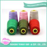 linha reflexiva de nylon girada Sewing do poliéster de 3m para o bordado