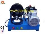 油圧ホース1inch 2spにひだを付ける油圧機械(携帯用か移動式)