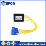 ADSL 2 방법 1X2 PLC 광섬유 쪼개는 도구 가격, 마감을%s 가진 PLC 144 코어 쪼개는 도구