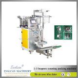 Maçaneta de plástico automática, rebite oco, máquina de embalagem de contagem de fixador de pressão