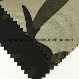 Маскировочная ткань пожаробезопасной холстины Spandex хлопка эластичной воинская для одежд камуфлирования