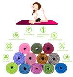 Gummischaumgummi-Übungs-bewegliche Arbeitsweg-Yoga-Matte