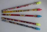 Crayon d'école de crayon d'élève de crayon d'HB de crayon de gomme à effacer