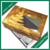 La orden de encargo valida el rectángulo del cartón que empaqueta el papel de encargo