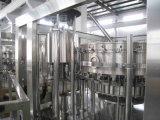 Fregado de las botellas carbonatado SGS del animal doméstico de la bebida máquina que capsula de relleno 3 in-1