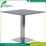 Spitzenverkaufs-Vierecks-hellgrauer Esszimmer-Tisch