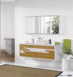 Vaidade moderna chinesa do banheiro da madeira contínua da venda quente com baixo preço