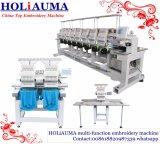 Holiauma 다중 맨 위 관 모자 3D 자수 기계는 동일한 질 Tajima 형제를 좋아한다