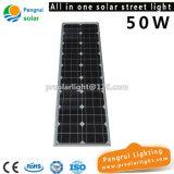 50W LED Lampe mit Li-Batterie-Solarstraßenlaterne