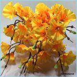 La seta fiorisce i fiori falsi artificiali per gli accessori della decorazione della casa della decorazione di cerimonia nuziale