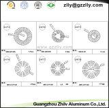 Dissipatore di calore di alluminio Drilling di perforazione di profilo per illuminazione