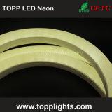 230V 120V 24V 12V aquecem as luzes de néon do cabo flexível branco do diodo emissor de luz