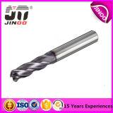 アルミニウムのためのCarbidの固体高品質の螺線形の製粉カッター