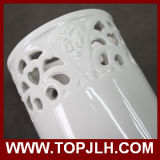 Kundenspezifischer Dekoration-Sublimation-keramischer Vase