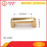 Passerelle en alliage de zinc de voûte en métal d'accessoires de bourse de qualité pour les marchandises en cuir