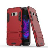 3-Layer Holster Combo Shock-Proof / Drop Proteção Hard Cover Case para Samsung Galaxy S8 Plus