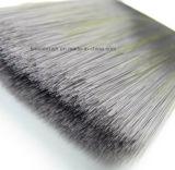 Pennello affusolato professionale di angolo del taglio di scarsità del filamento della qualità superiore con la maniglia di legno