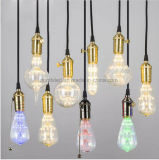 3W Edison Bulb LED Strip E27 G80 Creatives Sky Stars Starry String Light Filament Lamp Home Bar Decor Pendant Lighting 110-240V