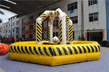 Подгонянный желтый раздувной разрушая шарик для малышей