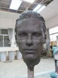 Manequim de cabeça de escultura para lojas