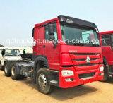 het Hoofd van de Vrachtwagen van de 371HPSinotruk HOWO 6X4 Tractor voor Verkoop