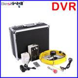 """7 """"デジタルLCDスクリーンが付いている23mmの下水管の点検カメラCr110-7D1及び20mから100mのガラス繊維ケーブルが付いているDVRのビデオ録画を防水しなさい"""