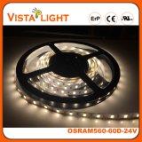 Luz de tira flexível impermeável do diodo emissor de luz de 24V RGB para a iluminação dos restaurantes