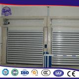Turbine-Bewegungsmetallindustrielle Hochgeschwindigkeitstür/Hochgeschwindigkeits rollen oben Door/PVC rollen oben Tür