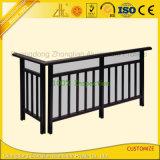 Profilo del corrimano dell'espulsione dell'alluminio 6063 per il balcone o le scale