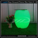 LEDのBVが付いているプラスチックナイトクラブのソファーの結婚式ライトソファーの椅子