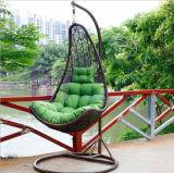 حديثة خارجيّ فندق أثاث لازم ألومنيوم [رتّن] أرجوحة كرسي تثبيت