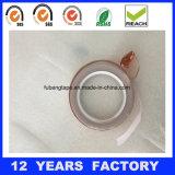 Sola cinta de cobre adhesiva echada a un lado de la hoja/laminado revestido del cobre